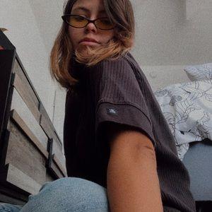 Vintage Calvin Klein Ribbed Shirt